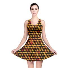 Fond 3d Reversible Skater Dress