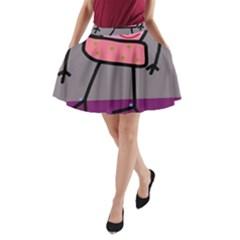 Sponge girl A-Line Pocket Skirt