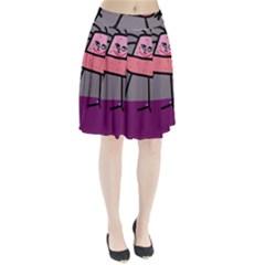 Sponge girl Pleated Skirt