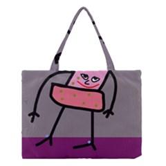 Sponge girl Medium Tote Bag