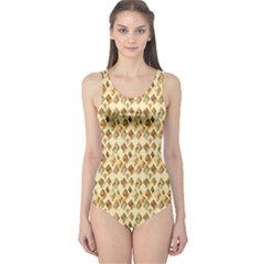 Shell We Dance? One Piece Swimsuit