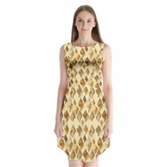 Shell We Dance? Sleeveless Chiffon Dress