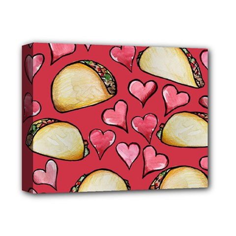 Taco Tuesday Lover Tacos Deluxe Canvas 14  x 11