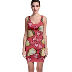 Taco Tuesday Lover Tacos Sleeveless Bodycon Dress