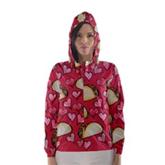 Taco Tuesday Lover Tacos Hooded Wind Breaker (Women)