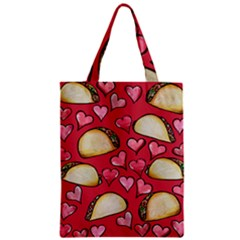 Taco Tuesday Lover Tacos Zipper Classic Tote Bag