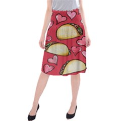 Taco Tuesday Lover Tacos Midi Beach Skirt