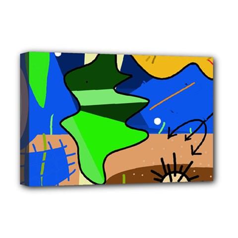 Aquarium  Deluxe Canvas 18  x 12