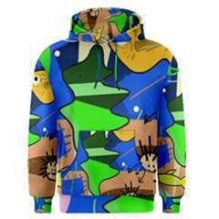 Aquarium  Men s Pullover Hoodie