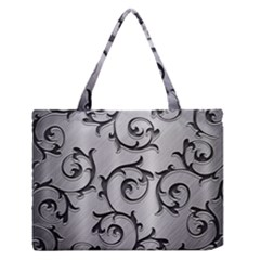 Floral Medium Zipper Tote Bag