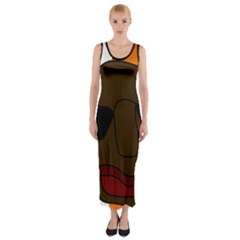 Cool Fitted Maxi Dress
