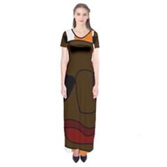 Cool Short Sleeve Maxi Dress