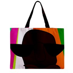 Cool Medium Zipper Tote Bag
