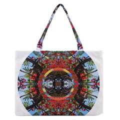 Flamboyant Medium Zipper Tote Bag
