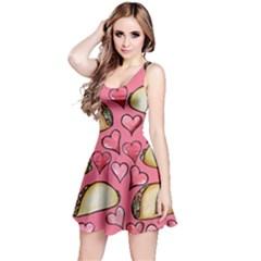 Taco Tuesday Lover Tacos Reversible Sleeveless Dress