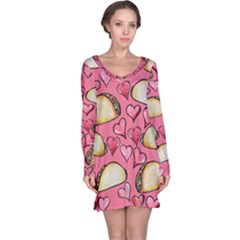 Taco Tuesday Lover Tacos Long Sleeve Nightdress