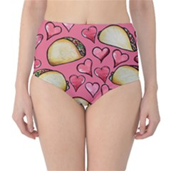 Taco Tuesday Lover Tacos High-Waist Bikini Bottoms