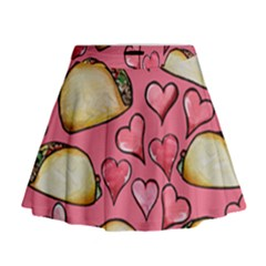 Taco Tuesday Lover Tacos Mini Flare Skirt