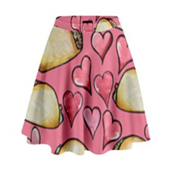 Taco Tuesday Lover Tacos High Waist Skirt