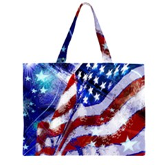 Flag Usa United States Of America Images Independence Day Large Tote Bag