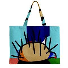 Hedgehog Zipper Mini Tote Bag