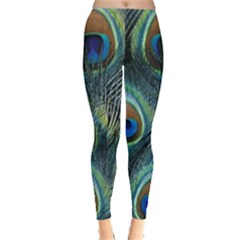 Feathers Art Peacock Sheets Patterns Leggings
