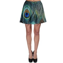 Feathers Art Peacock Sheets Patterns Skater Skirt