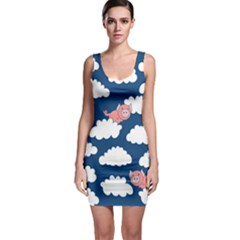 When Pigs Fly Sleeveless Bodycon Dress