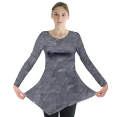 Excellent Seamless Slate Stone Floor Texture Long Sleeve Tunic