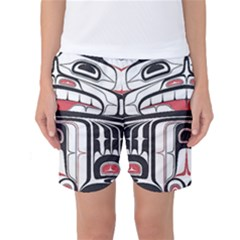 Ethnic Traditional Art Women s Basketball Shorts