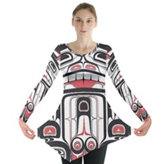 Ethnic Traditional Art Long Sleeve Tunic