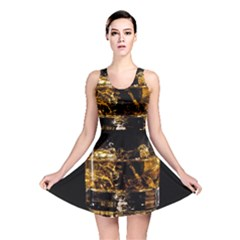 Drink Good Whiskey Reversible Skater Dress