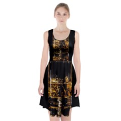 Drink Good Whiskey Racerback Midi Dress