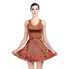 Dreamcatcher Stained Glass Reversible Skater Dress