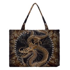 Dragon Pentagram Medium Tote Bag