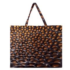 Digital Blasphemy Honeycomb Zipper Large Tote Bag