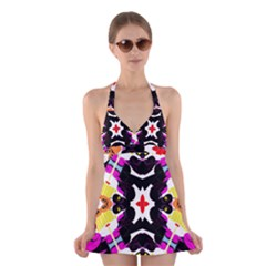 Sssssssmkk (2)unygb Halter Swimsuit Dress