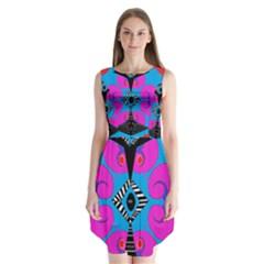 Sssssssju Sleeveless Chiffon Dress
