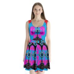 Sssssssju Split Back Mini Dress