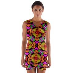 Sssssssmkk Jmy Wrap Front Bodycon Dress