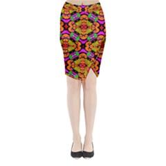 Sssssssmkk Jmy Midi Wrap Pencil Skirt