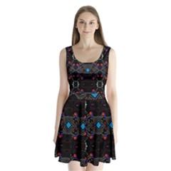 Sssssssju (2)iib Split Back Mini Dress