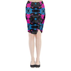 Sssssssju (2)ii Midi Wrap Pencil Skirt