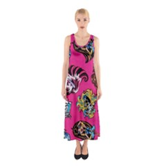 Large 1 Sleeveless Maxi Dress
