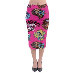 Large 1 Midi Pencil Skirt