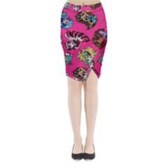 Large 1 Midi Wrap Pencil Skirt