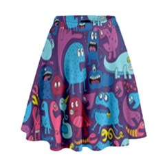 Mo Monsters Mo Patterns High Waist Skirt
