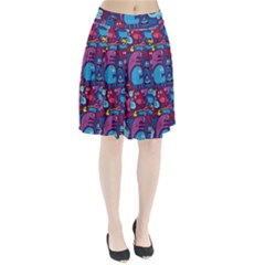 Mo Monsters Mo Patterns Pleated Skirt