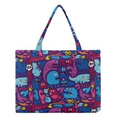 Mo Monsters Mo Patterns Medium Tote Bag