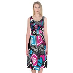 Monster High Midi Sleeveless Dress